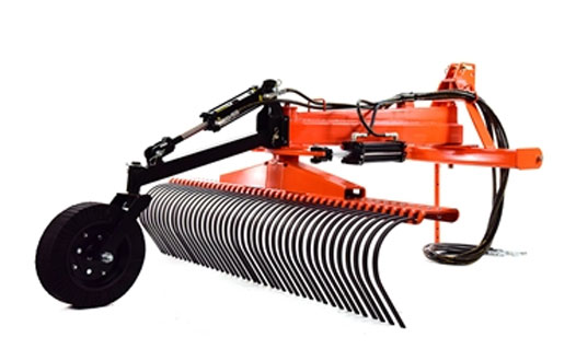 Heavy Duty Land Shark Landscape Rake